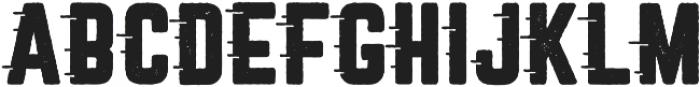 Roadstar Rugged otf (400) Font UPPERCASE