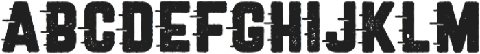 Roadstar Rugged otf (400) Font LOWERCASE