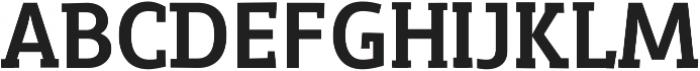 Roadster Regular ttf (400) Font UPPERCASE