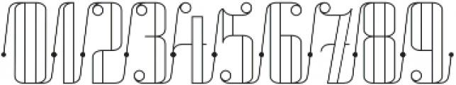 Roadster Scipt Line Dot otf (400) Font OTHER CHARS