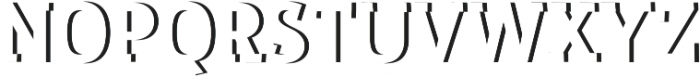 RoadsterEmboss Regular ttf (400) Font UPPERCASE