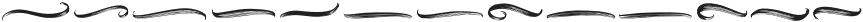 Roasttery Swashes otf (400) Font LOWERCASE