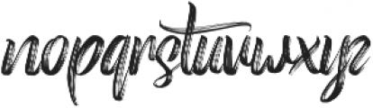 Roasttery otf (400) Font LOWERCASE