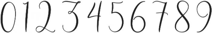 Roberts Humter otf (400) Font OTHER CHARS