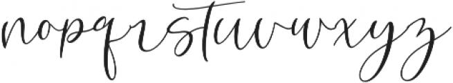 Roberts Humter otf (400) Font LOWERCASE