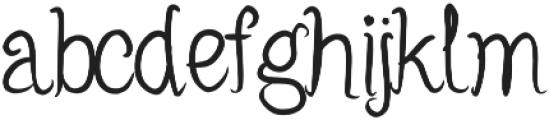 Robinsnest ttf (400) Font LOWERCASE