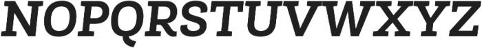 Roble Alt Bold Italic otf (700) Font UPPERCASE