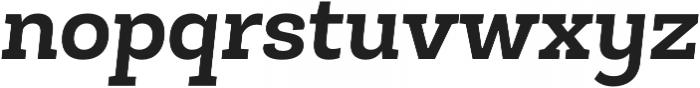 Roble Alt Bold Italic otf (700) Font LOWERCASE