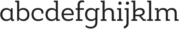Roble Alt Book otf (400) Font LOWERCASE