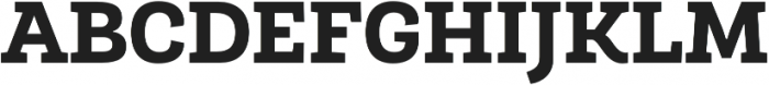Roble Alt ExtraBold otf (700) Font UPPERCASE