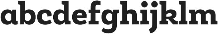 Roble Alt ExtraBold otf (700) Font LOWERCASE