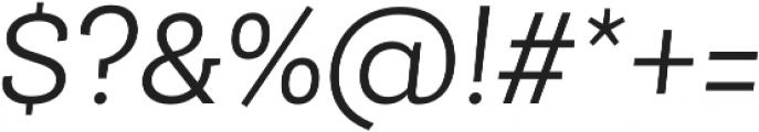 Roble Alt Light Italic otf (300) Font OTHER CHARS