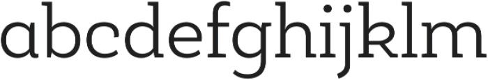 Roble Alt Light otf (300) Font LOWERCASE