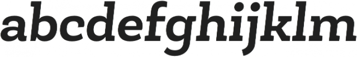 Roble Bold Italic otf (700) Font LOWERCASE