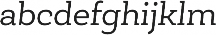 Roble Book otf (400) Font LOWERCASE