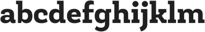 Roble ExtraBold otf (700) Font LOWERCASE