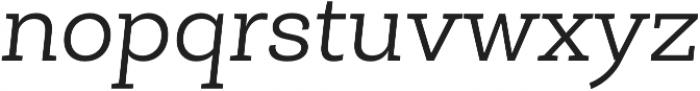 Roble Light Italic otf (300) Font LOWERCASE