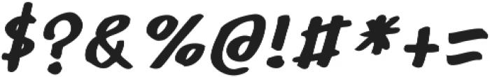 Robolt x Hand Italic ttf (400) Font OTHER CHARS