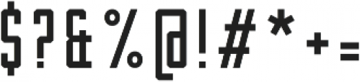 Robolt x Machine200 ttf (200) Font OTHER CHARS