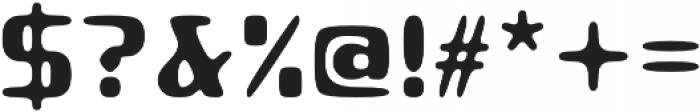 Roboo 4F otf (400) Font OTHER CHARS