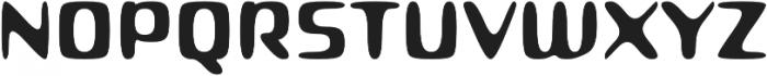 Roboo 4F otf (400) Font UPPERCASE