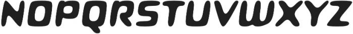Roboo 4F otf (700) Font UPPERCASE