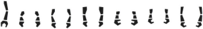 Robots ht Arms otf (400) Font UPPERCASE