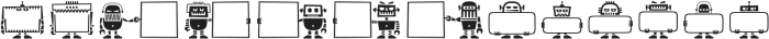 Robots ht Regular otf (400) Font UPPERCASE