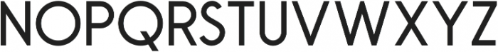 Robusta Sans Regular otf (400) Font UPPERCASE