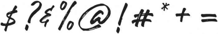 Robusta otf (400) Font OTHER CHARS