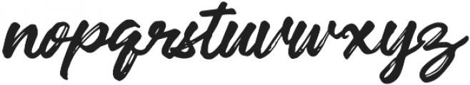 Robusta otf (400) Font LOWERCASE
