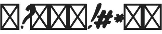 Rochesten Brush otf (400) Font OTHER CHARS