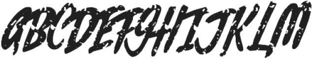 Rochesten Brush otf (400) Font UPPERCASE