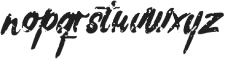 Rochesten Brush otf (400) Font LOWERCASE
