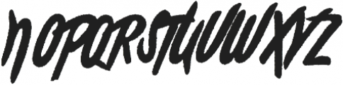 Rochesten Roughen otf (400) Font UPPERCASE