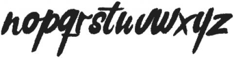 Rochesten Roughen otf (400) Font LOWERCASE