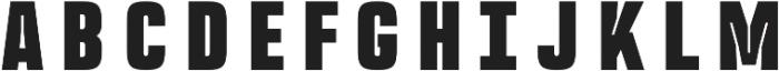 Rocinante Titling Black otf (900) Font UPPERCASE