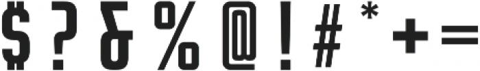 Rocinante Titling Medium otf (500) Font OTHER CHARS