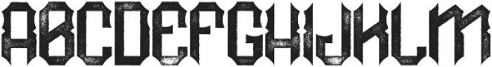 RockNRoll Aged otf (400) Font UPPERCASE