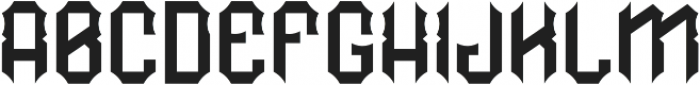RockNRoll Regular otf (400) Font LOWERCASE