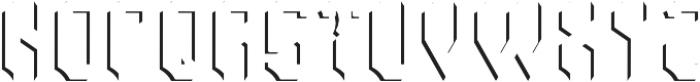RockNRoll ShadowFX otf (400) Font LOWERCASE
