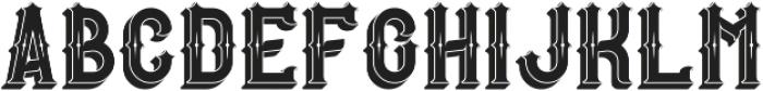 RockStar Sh-Tx otf (400) Font UPPERCASE