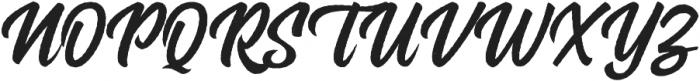 Rockaboy Rought italic otf (400) Font UPPERCASE