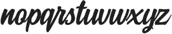 Rockaboy Rought italic otf (400) Font LOWERCASE