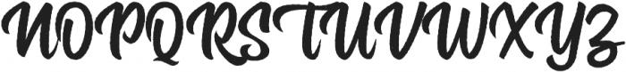 Rockaboy Rought otf (400) Font UPPERCASE