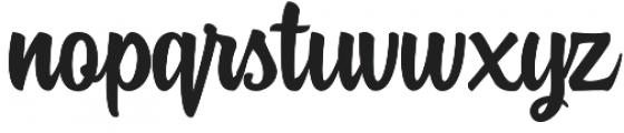Rockaboy otf (400) Font LOWERCASE