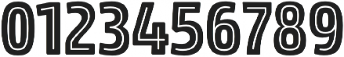 Rockeby Condensed Inline Two otf (400) Font OTHER CHARS