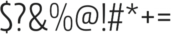 Rockeby Condensed otf (400) Font OTHER CHARS