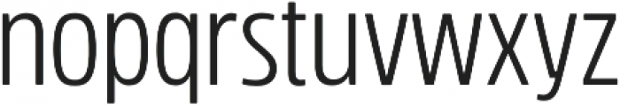 Rockeby Condensed otf (400) Font LOWERCASE