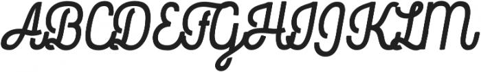 Rockeby Script Two Black otf (900) Font UPPERCASE